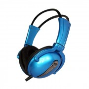HEADPHONES, Lenovo P723, Headset, Blue (888-013525)