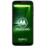 "Telefon Mobil Motorola XT1955 Moto G7 Power, Procesor Octa-Core 1.8GHz, IPS LCD Capacitive touchscreen 6.2"", 4GB RAM, 64GB Flash, 12MP, 4G, Wi-Fi, Dual Sim, Android (Negru) + Cartela SIM Orange PrePay, 6 euro credit, 6 GB internet 4G, 2,000 minute nationa"