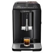 Espressor automat Bosch VeroCup 100 TIS30129RW, 1300 W, 15 bar, 1.4 l, rasnita ceramica, dispozitivul spumare lapte MilkMagic Pro, filtru Brita integrat (Negru)