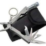 Hamz 9-in-1 Silver Micro Plier 6 Swiss Army Knife(Silver)