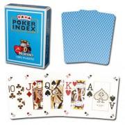 Modiano mini pokerové karty 4 rohy - Světle Modrá