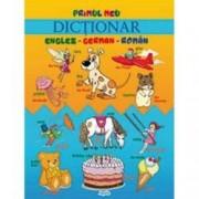 Primul meu dictionar englez-german-roman