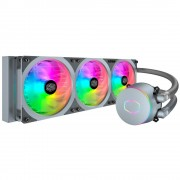 Liquid Cooling for CPU, CoolerMaster MasterLiquid ML360P Silver ARGB (MLY-D36M-A18PA-R1)