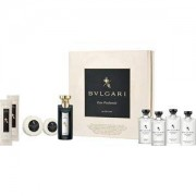 Bvlgari Perfumes unisex Eau Parfumée au Thé Noir Guest Set Eau de Cologne Spray 75 ml + Shampoo & Shower Gel 75 ml + Shampoo 75 ml + Hair Conditioner 75 ml + Body Lotion 75 ml + Seife 50 g + Seife 75 g + Refreshing Towels 2 x 12 g 1 Stk.