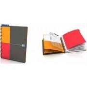 Caiet cu spirala A4+ OXFORD International Managerbook 80 file-90g-mp 4 perf. coperta PP - dictando