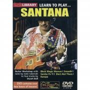 Roadrock International Lick library - Santana Learn to play (Guitar), DVD