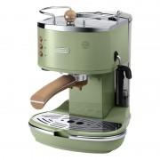 Espressor manual DeLonghi Vintage ECOV311.GR, 1100 W, 15 bar, 1.4 l, sistem cappuccino, Verde