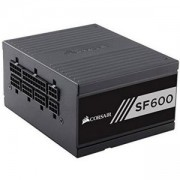Захранване Corsair High Performance SFX SF600, Modular Power Supply, Fully Modular 80 Plus Gold, EU Version, CP-9020105-EU