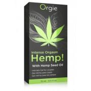 Orgie Hemp - stimuláló intim gél nőknek és férfiaknak (15ml)