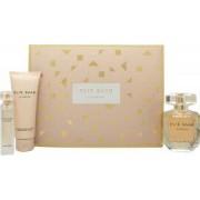 Elie Saab Le Parfum Set de Regalo 90ml EDP Vaporizador + 75ml Loción Corporal + 10ml EDP Mini