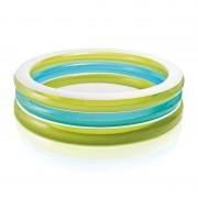Intex Rond zwembad groen blauw wit