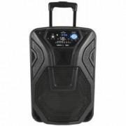 Boxa activa portabila QTX Sound Busker-10 150 W difuzor 25cm USB MP3 Bluetooth Radio FM