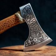Viking balta - Fenrir Vegvisir