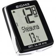 Bežično računalo za bicikl BC 14.16 ALTI STS CAD Sigma kodirani prijenos sa senzorom za kotače, sa senzorom koraka