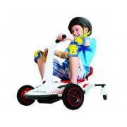 Kart electric copii Rollplay Turnado drift - alb
