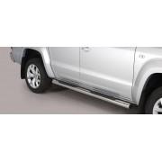 IVOL Sidebars VW Amarok vanaf 2010 (alle modellen) - Rond