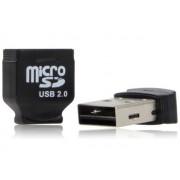 NTR CR02B microSD/microSDHC kártyaolvasó - fekete