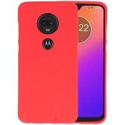 Color TPU Hoesje voor Motorola Moto G7 / G7 Plus Rood