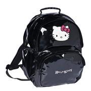 Ghiozdan rucsac Hello Kitty 45 cm negru