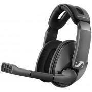Casti Gaming Sennheiser GSP 370, Wireless, Microfon (Negru)