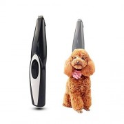 NAMBM Dog Hair Trimmer USB Rechargeable Professional Pets Hair Trimmer for Dogs Cats Pet Hair Clipper Grooming Kit, Black