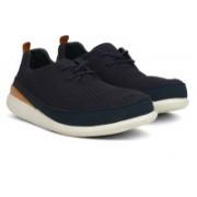 Clarks Pitman Run Navy Sneaker For Men(Navy)