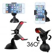 Suport Auto Parbriz / Geam Telefon Universal Reglabil V 360 Grade