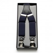 Pentru bărbaţi bretele 3499 în întuneric albastru culoare