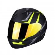 Scorpion Casco Moto Integrale Exo-390 Hawk Matt Black Neon Yellow