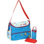 Fisher Price Butter Flies Duffle Diaper bag/ Shoulder Bag / Mother Bag