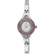 Timex Quartz Silver Dial Women Watch-TW000X905