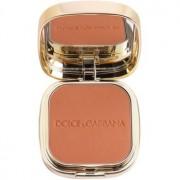 Dolce & Gabbana The Foundation Perfect Matte Powder Foundation maquillaje en polvo matificante con espejo y aplicador tono No. 160 Sable 15 g