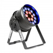 Beamz BPP210 LED Par de focos 64 18x 12W 4-in-1 LEDs incluye mando a distancia (Sky-151.235)