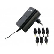 Ansmann 5111253-510 Nätadapter ställbar 3 V/DC, 4.5 V/DC, 5 V/DC, 6 V/DC, 7.5 V/DC, 9 V/DC, 12 V/DC 1500 mA 18 W