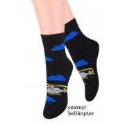Steven art.014 chlapecké ponožky 32-34 mel.šedá-mel.světle šedá