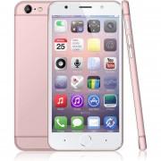 """EH 5.5"""" Smartphone MTK6580 ROM 8GB RAM 1GB Dual SIM Desbloqueado-Oro Rosa"""