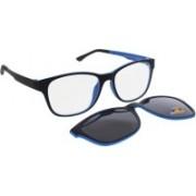 Vast Round Sunglasses(Grey, Clear)