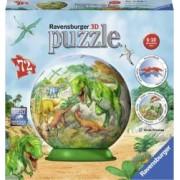 Puzzle 3D RavensBurger Dinozauri 72 Piese