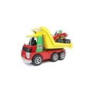 BRUDER - Conjunto Caminhão Basculante com Carregadeira (Roadmax)