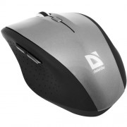 Mouse, Defender Pulsar MM-655 Nano, 1000-2000dpi, Optical, Wireless, Grey (52655)