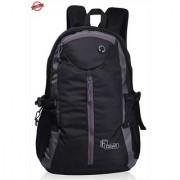 F Gear Slog V2 27 Liter Laptop Backpack (Black Grey)