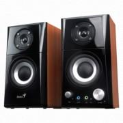 GENIUS SP-HF500A 2.0 zvučnici (Wood) - 31730905100 2.0, 14W, 100Hz-20KHz, 82dB