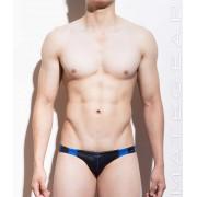 Mategear Kae Jong Flat Front Mini Bikini Swimwear Black 1021001