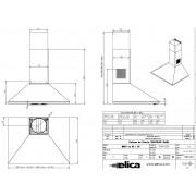 Hota inox de bucatarie Turboair CERTOSA 60 cm