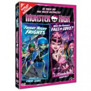 Monster High Why do Ghouls Fall in Love + Friday Night Frights DVD