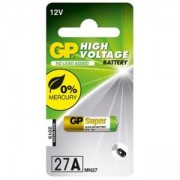 Алкална батерия 12 V 1 бр. за аларми А27 GP, GP-BA-LR27-12V-1PK