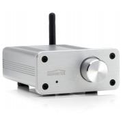 Ricevitore musicale Bluetooth aptX con amplificatore digitale, Alluminio