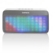 Lenco Altoparlante Stereo Bluetooth Portatile BT-200 Light Grigio