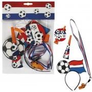 Voetbal Supportersset 4 delig