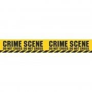 Funny Fashion 2x Politie thema plastic afzetlinten Crime Scene 600 cm